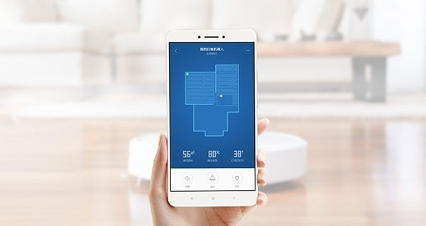 Sterowanie przez aplikację mobilną