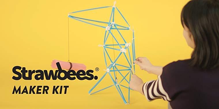 Obudź w sobie wynalazcę, zestawem konstrukcyjnym Strawbees