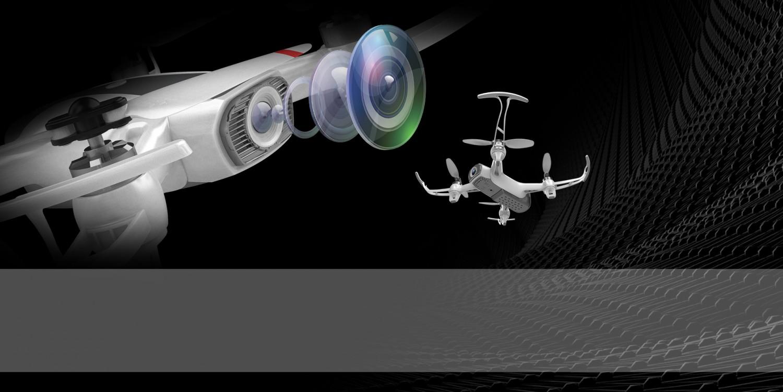 Dron s duálním kamerovým systémem a GPS modulem
