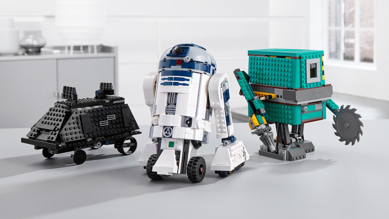 Buduj i programuj droidy
