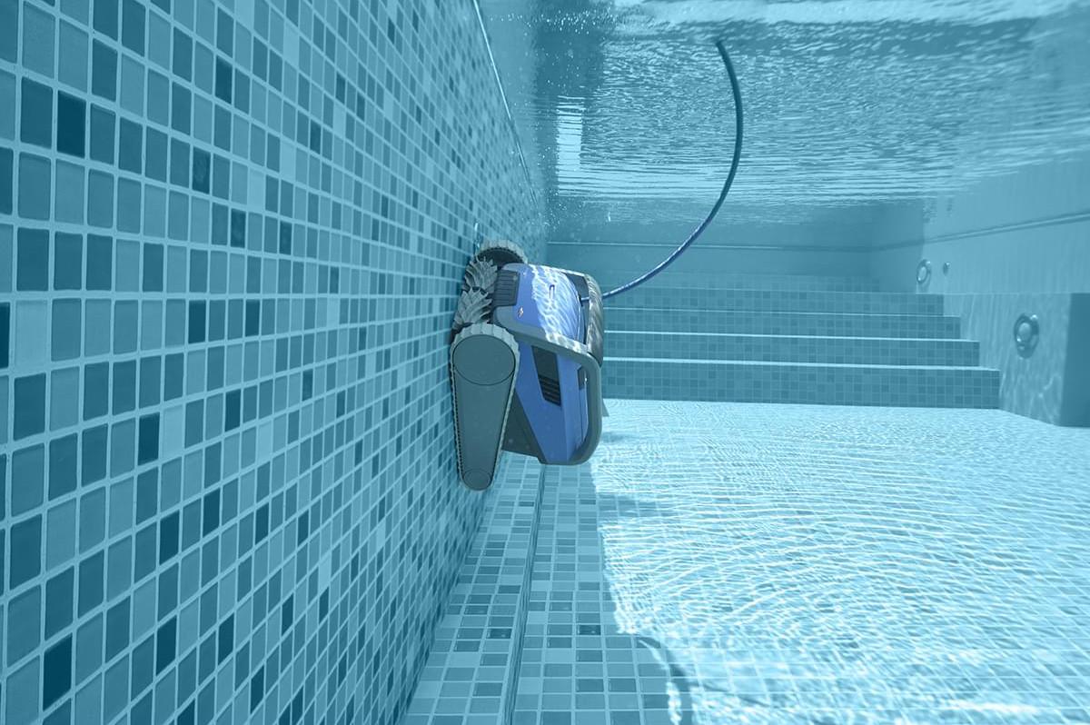 Pełne pokrycie basenu