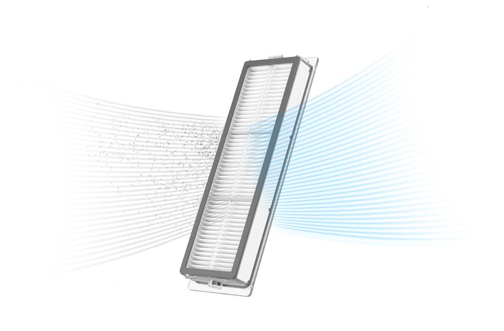 Prezentacja filtra do odkurzacza automatycznego Xiaomi