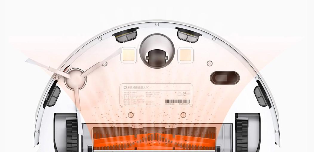 Prezentacja szczotki głównej do odkurzacza automatycznego Xiaomi