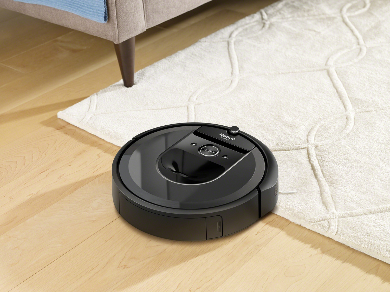 Prezentacja odkurzacza automatycznego iRobot Roomba i7 (7150)