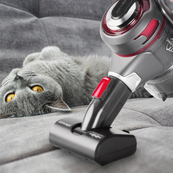 Silnikowa turboszczotka PET – specjalista od sierści