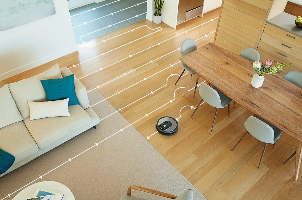 Dom pełen kabli? Dla Roomby 975 żaden problem!