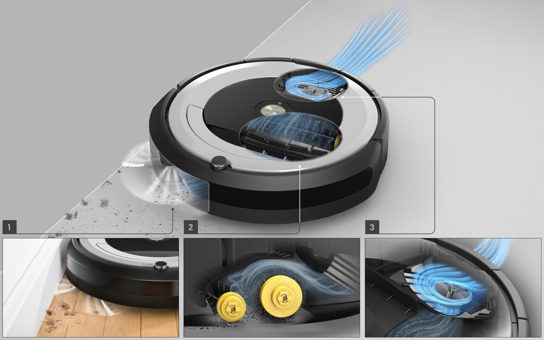 Trzzystopniowy system czyszczenia AeroForce