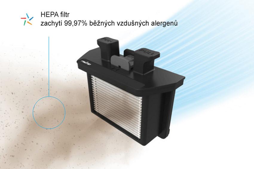 Filtracja HEPA PureAir i blokada nieczystości