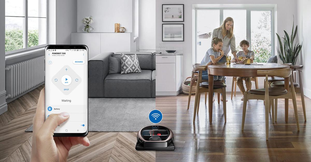 Łączność WiFi i kompatybilność z aplikacją SmartThings