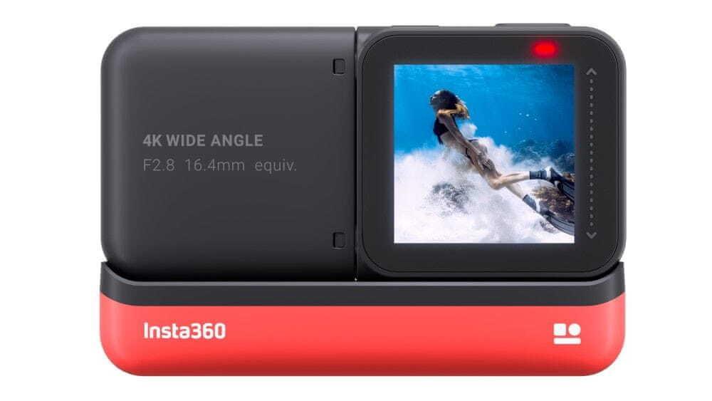 Insta360 ONE R (4K Edition) jest intuicyjna i dobrze przemyślana
