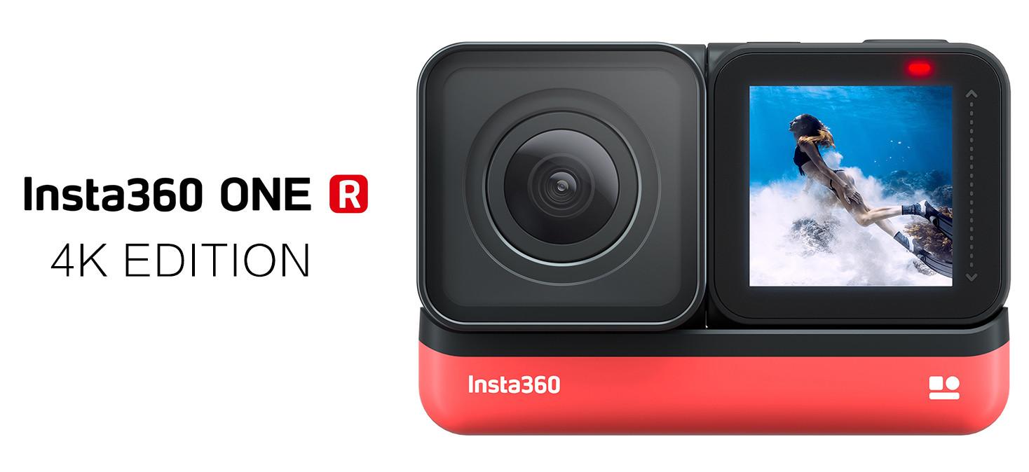 Prezentacja kamery outdoorowej Insta360 One R (4K Edition)