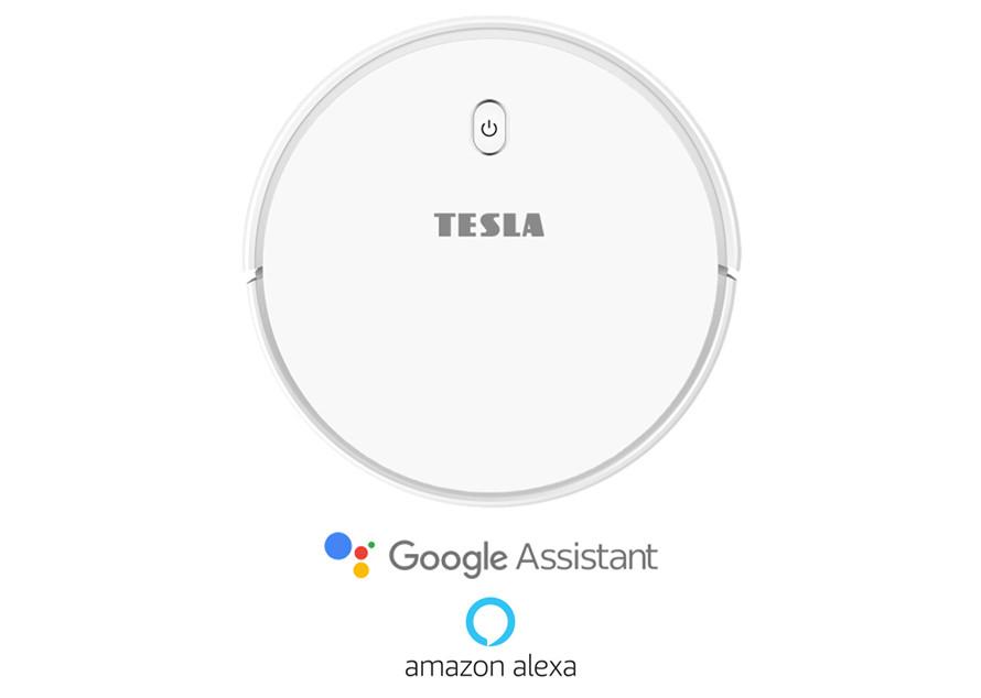 Inteligentne sprzątanie za pomocą Google Assistant/Amazon Alexa