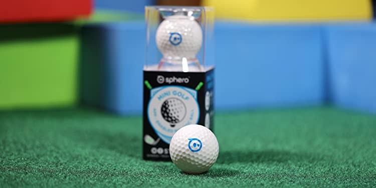 Prezentacja robo kuli Sphero Mini Golf