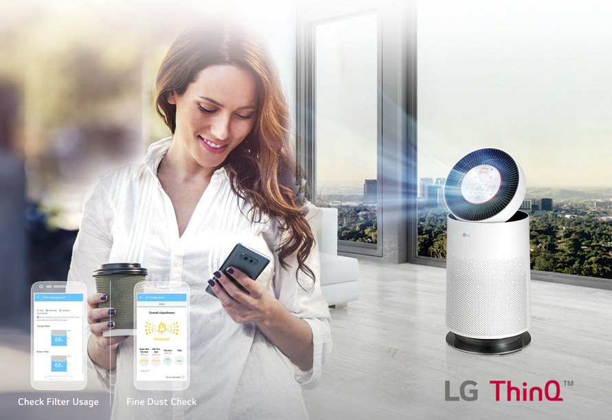 Aplikacja mobilna LG ThinQ