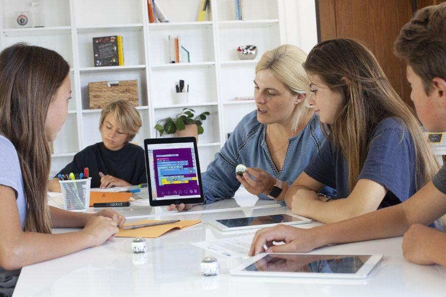 Bezpłatna platforma szkolna Ozobot Classroom
