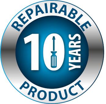 Produkt naprawialny - 10 lat