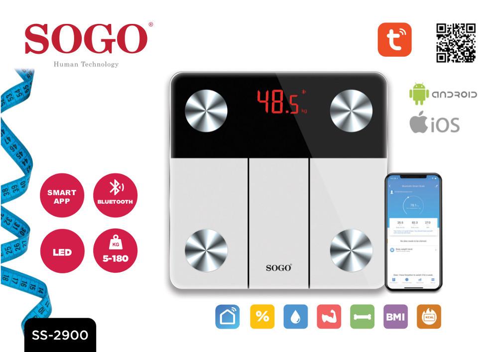 Prezentacja cyfrowej wagi łazienkowej SOGO SS-2900