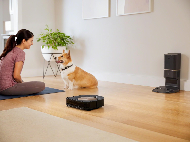 Prezentacja odkurzacza automatycznego iRobot Roomba s9+ (9550) WiFi