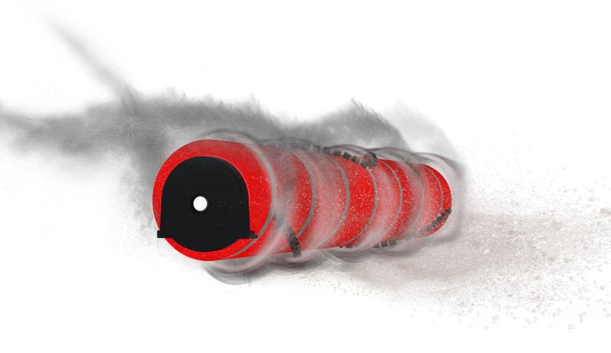 Łączona szczotka główna