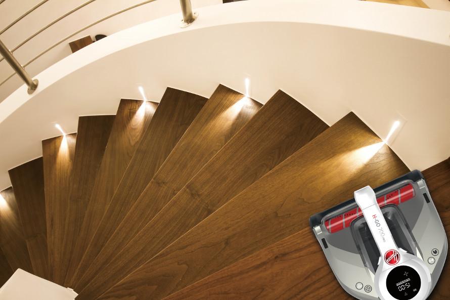 Hoover H-GO 700 nie spadnie ze schodów