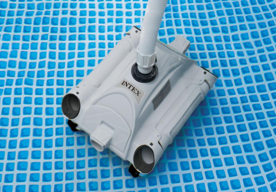 Prezentacja odkurzacza basenowego Intex 28001
