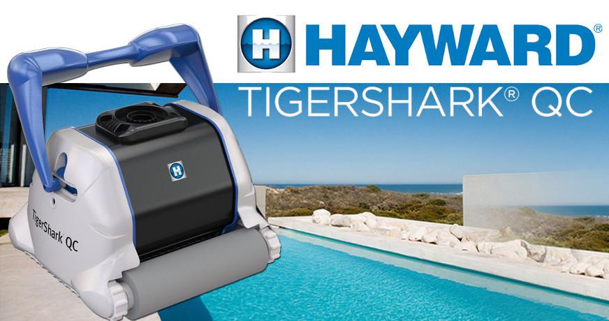 Przedstawiamy odkurzacz basenowy Hayward TigerShark QC
