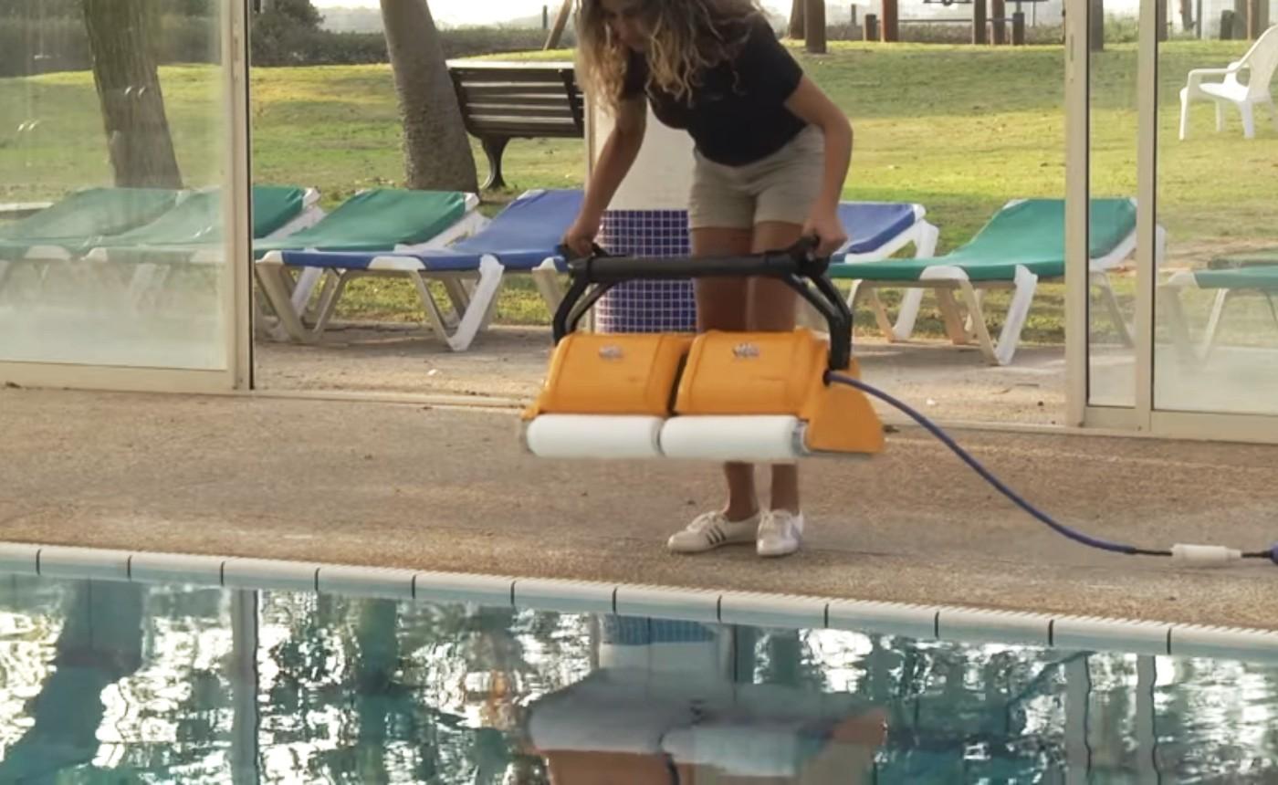 Metody czyszczenia odkurzacza Dolphin 2x2 PRO GYRO