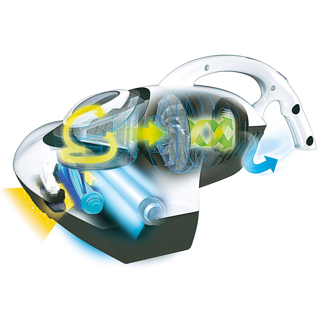 Jak pracuje odkurzacz antybakteryjny UVC Raycop?