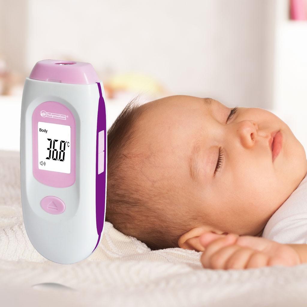 Mierzenie temperatury za pomocą jednego przycisku