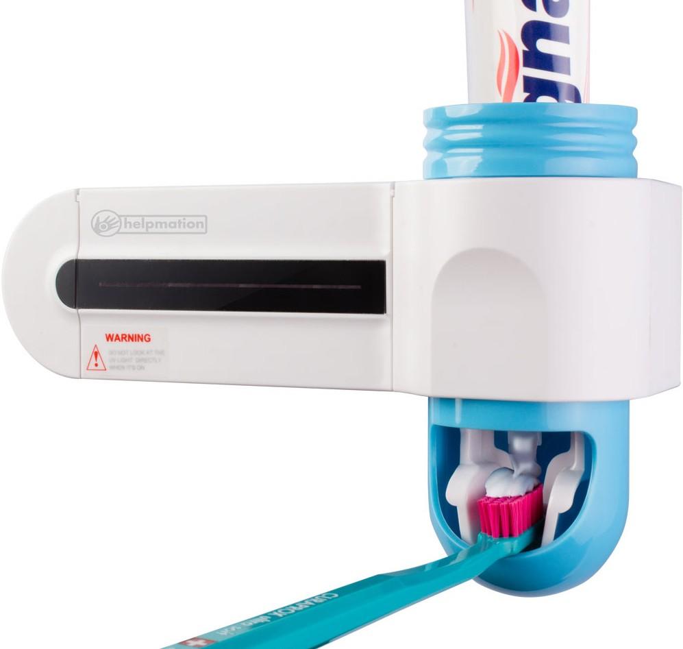 Praktyczny uchwyt i dozownik pasty do zębów